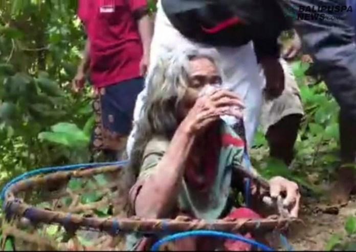 Dadong Sukri yang sempat dinyatakan menghilang ditemukan di jurang