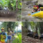 ATV Quad Bike and Ayung River Rafting
