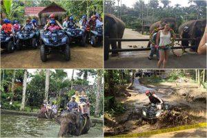 Bali Quad Bike and elephant ride tour