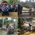 Bali Quad Bike and elephant ride tour