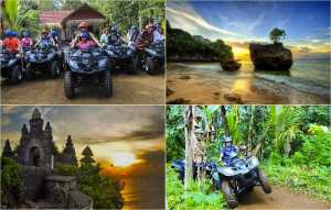 Bali Quad Bike Ubud and Uluwatu Sunset Tour