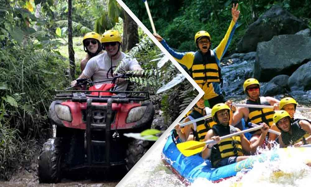 bali atv ride and white water rafting