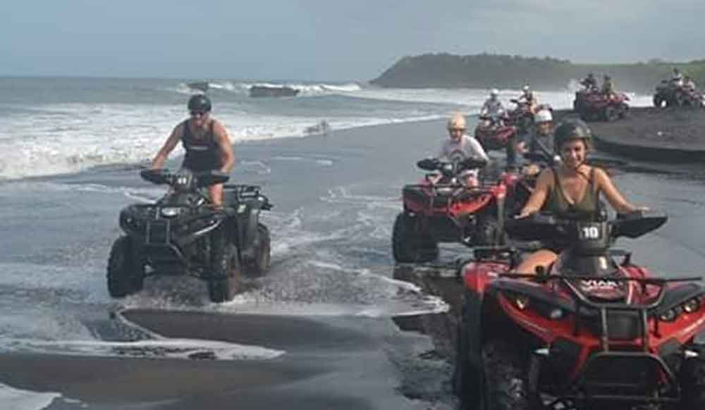 ATV Riding on The Beach Bali