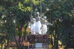 denpasar, bali, city, town, denpasar city, capital city, bali capital city, puputan badung, statue