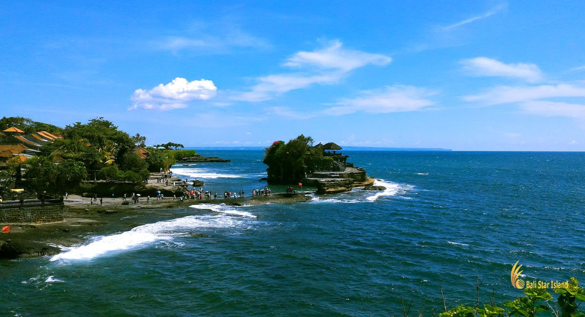 Tanah Lot - Bali Temple On Rock