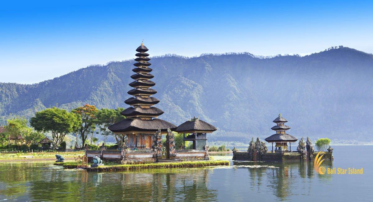 Ulun Danu Temple Bedugul   Bali Temple on Lake