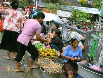 Street, fruit, seller, badung, traditional, market, denpasar, city, traditional market, badung traditional market, denpasar market