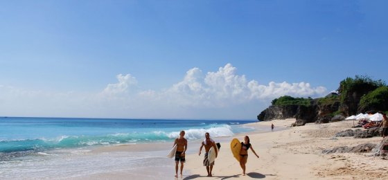 Dreamland Beach – Bali White Sandy Beach