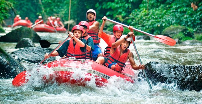 Ayung River Rafting Adventure