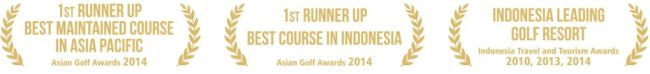 New Kuta Golf - awards