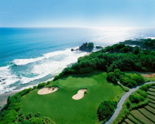 nirwana bali golf club, nirwana bali golf overview, tanah lot golf course