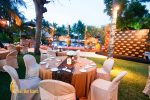 dinner party, dinner party table setup, bali party, bali party planners