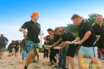 crazy ball, crazy ball game, beach team building, bali beach team building