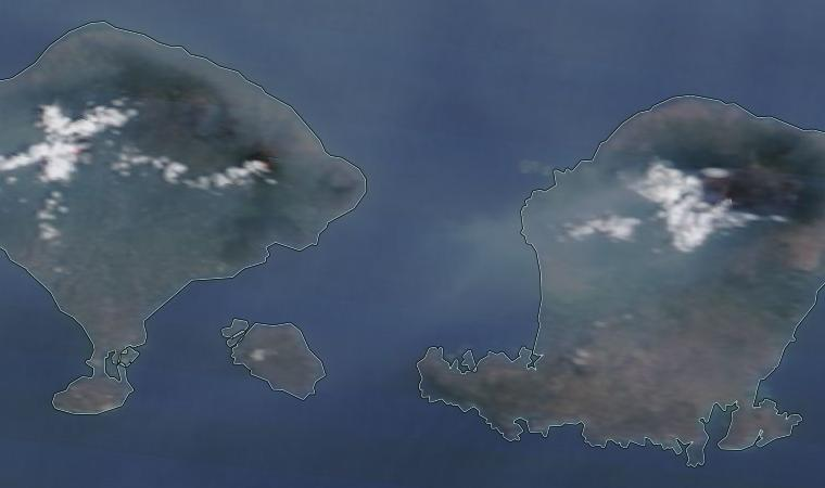 Bali ash cloud 26 October 2015