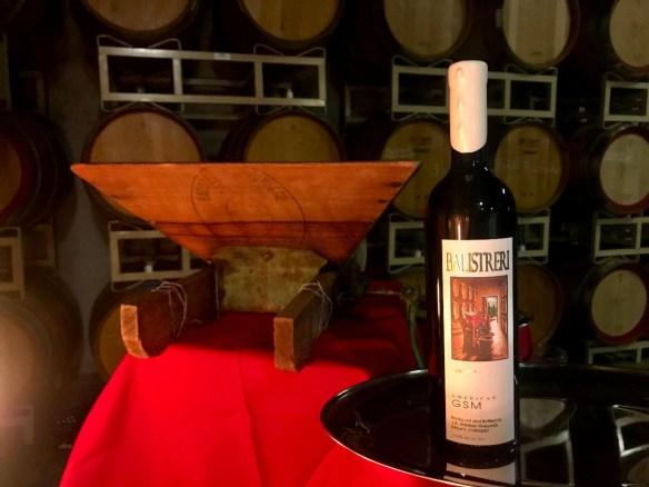 American GSM Blend Balistreri Vineyards