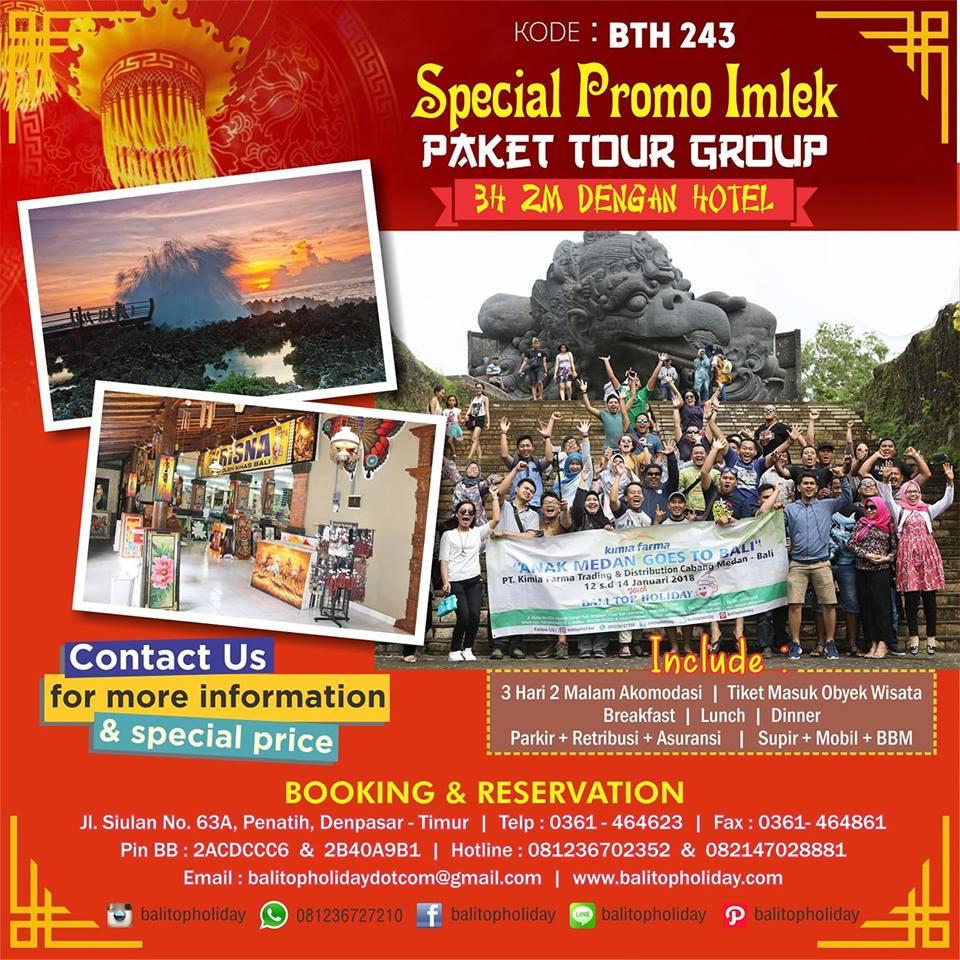 paket tour group imlek 2018