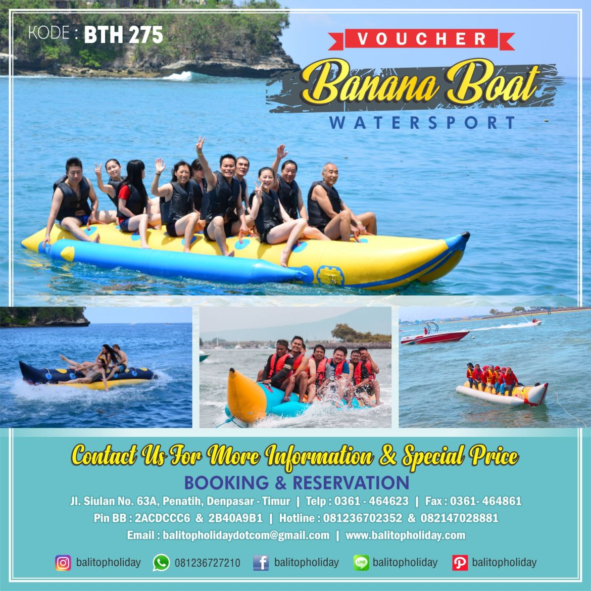 Voucher Banana Boat
