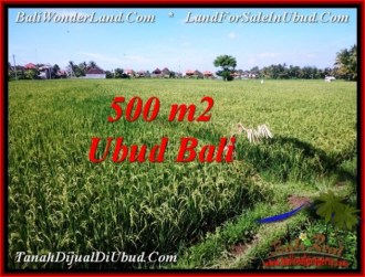 Affordable PROPERTY 500 m2 LAND IN Sentral Ubud FOR SALE TJUB545