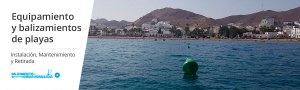 Equipamiento y balizamientos de playas