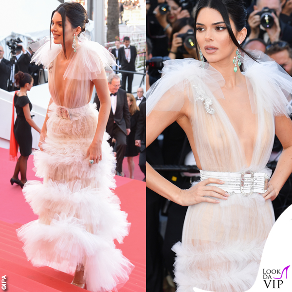 Cannes2018-Kendall-Jenner-abito-Schiaparelli-HC-5-1