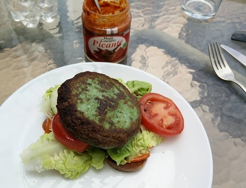 Turky Spinat Burger