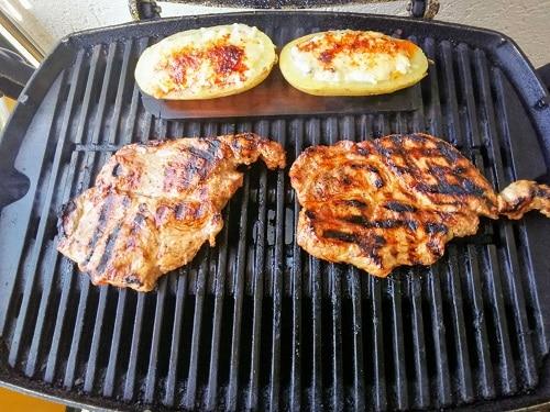 Dunkelbier Marinade für Schweinenacken Steak