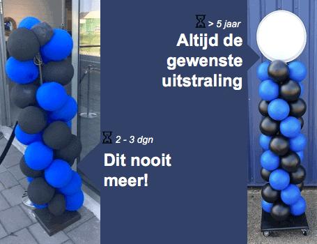 Alternatief voor ballonnen