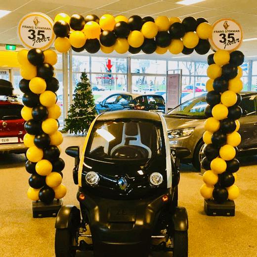 Renault Twizy Ballonboog