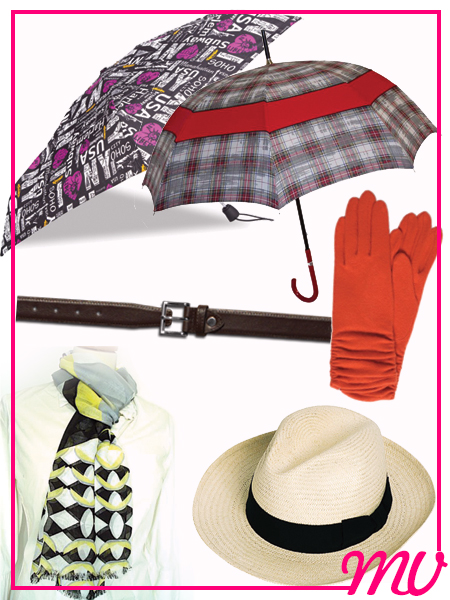 accessoires-parapluie-ceinture-chapeau-gant-foulard maroquinerie belley ballad et vous