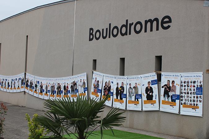 Les affiches des commerçants de l'UCAB