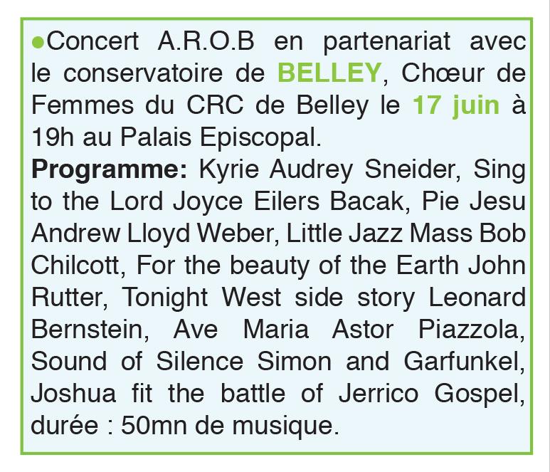 Concert AROB