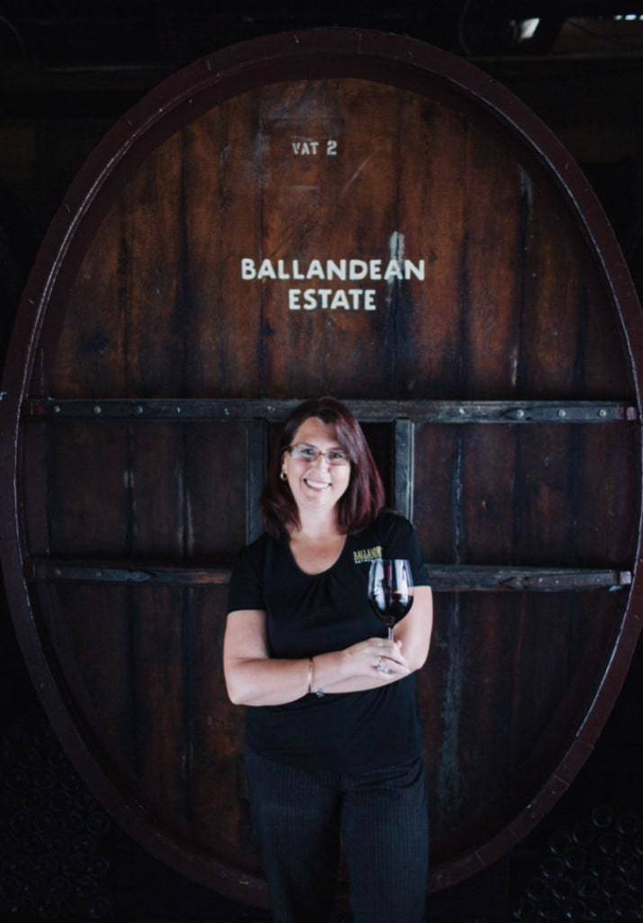 Leeanne Puglisi Gangemi of Ballandean Estate Wines