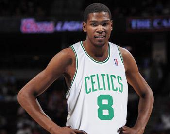 Durant in a Celtics Jersey