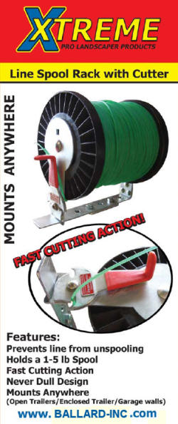 Adjustable Line Spool with Cutter