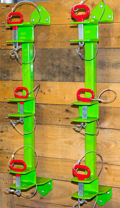 3 Place Classic Series Trimmer Rack