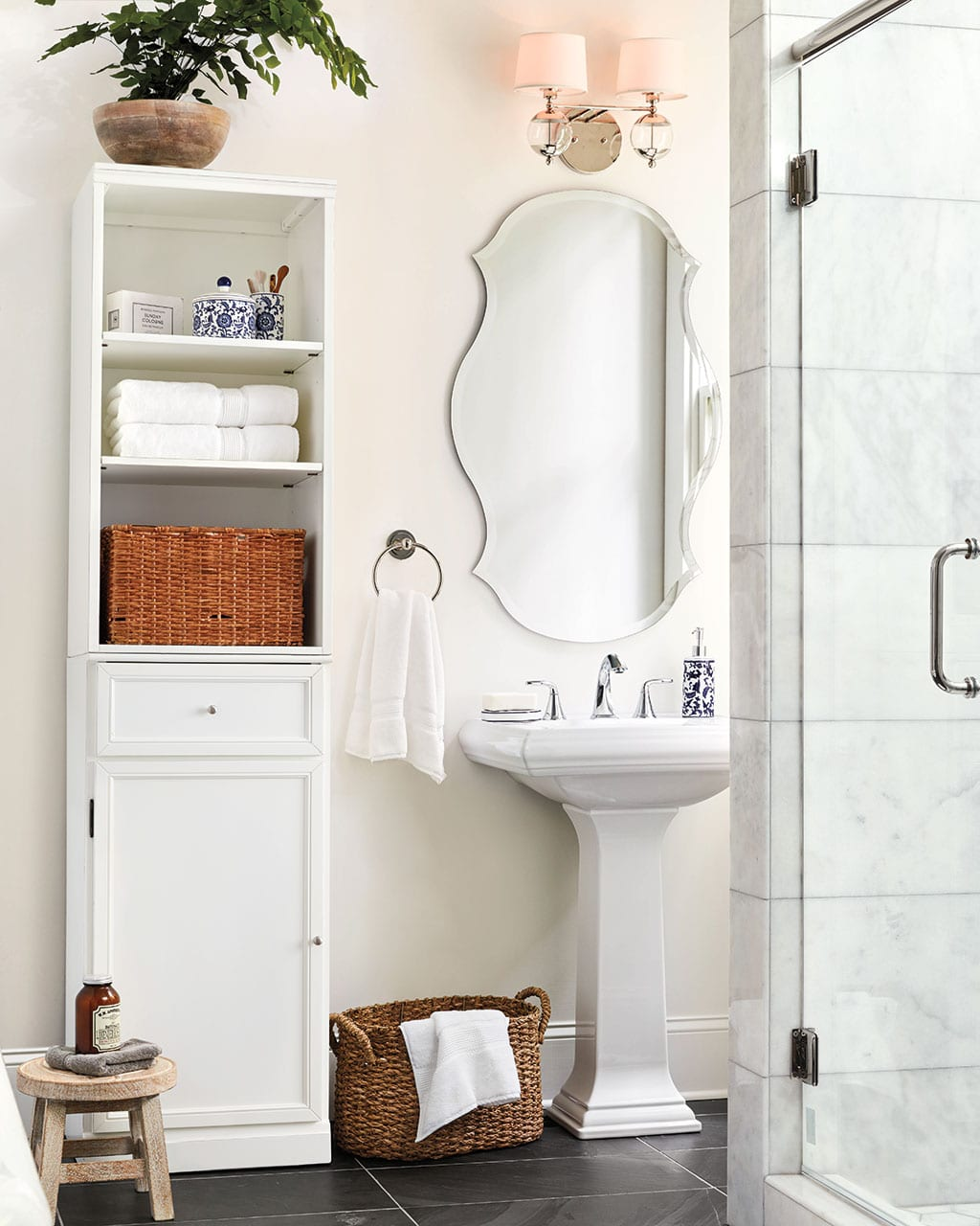 proper height for towel bars and rings