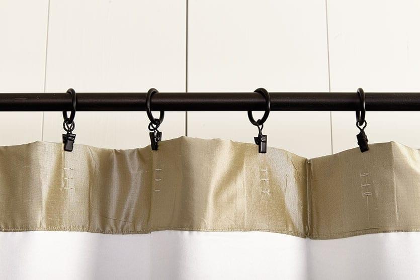 ميت زبدة نيكليت how to hang curtains with rings
