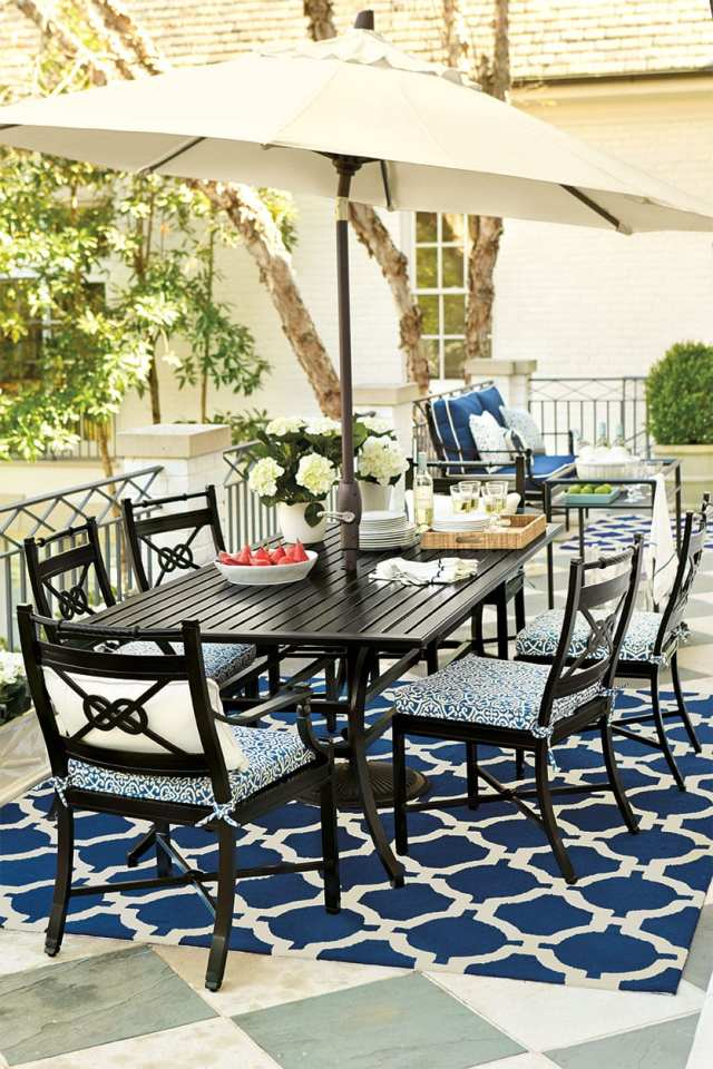 15 ways to arrange your porch furniture - how to decorate