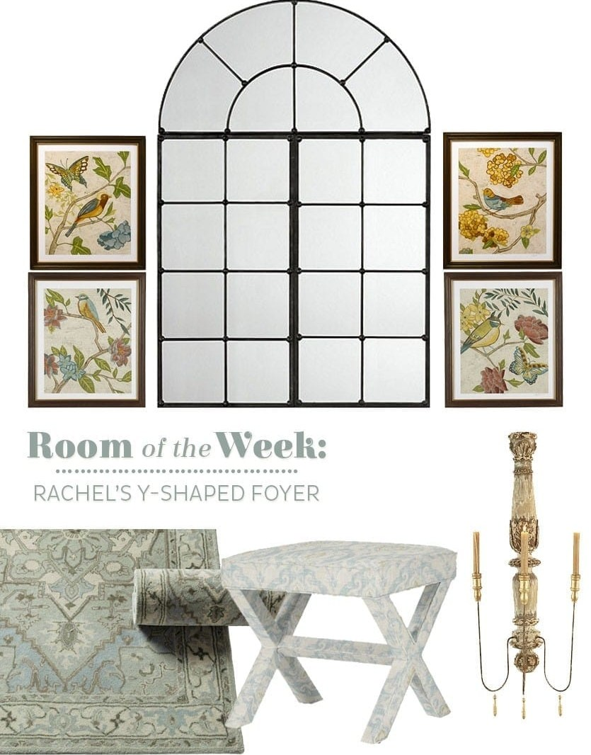 Decorating Dilemmas Rachel S Foyer How To Decorate | Staircase Landing Wall Design | Rural | Foot Stair | Pinterest | Interior | Wood Handrail Pasted