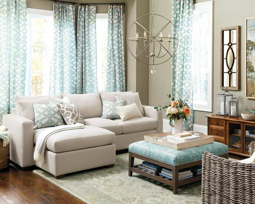 ottoman or coffe table for sectional