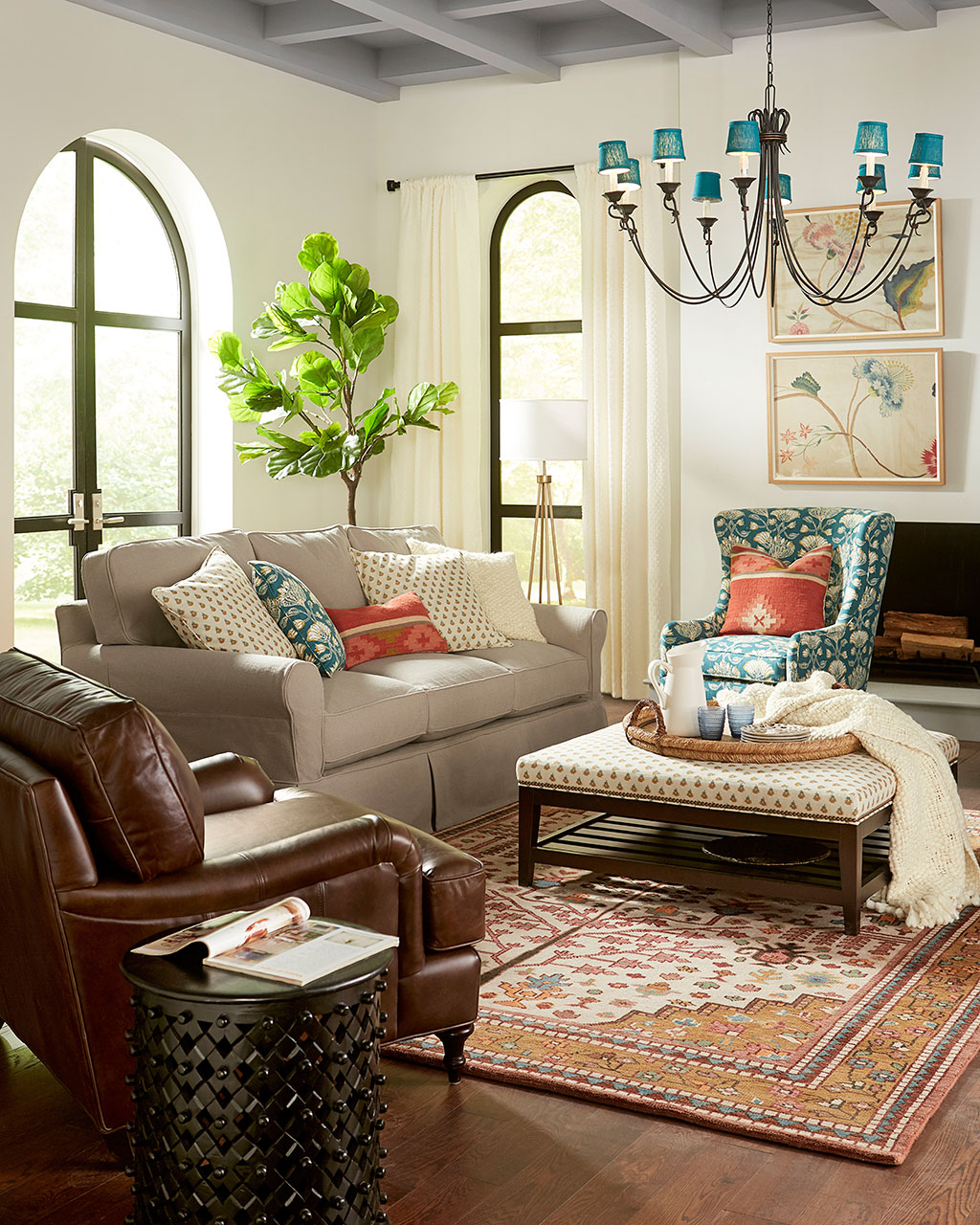 Small Living Room Ideas for More Seating and Style on Small Living Room Ideas 2019  id=19237