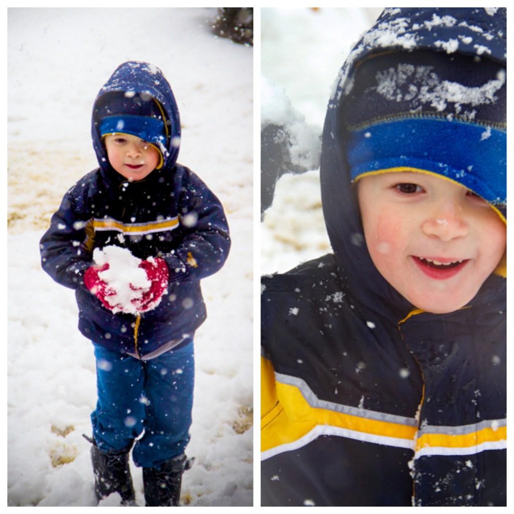 Snowball at Camera