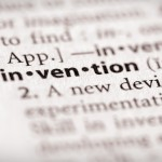 """Selective focus on the word """"invention"""". Many more word photos in my portfolio..."""