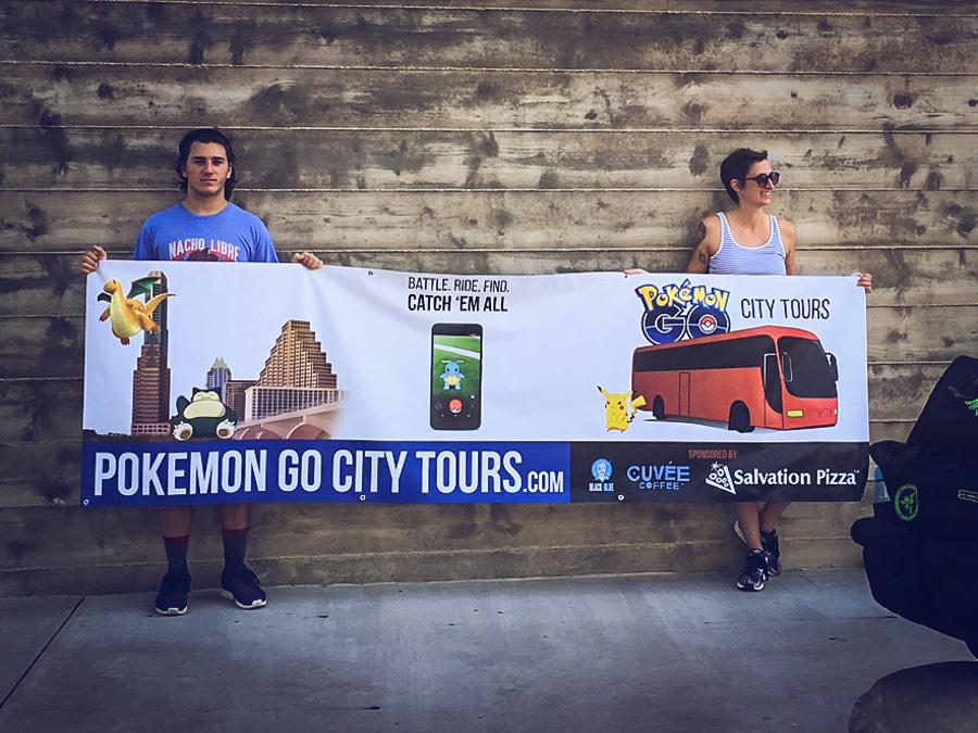 Pokémon GO City Tours