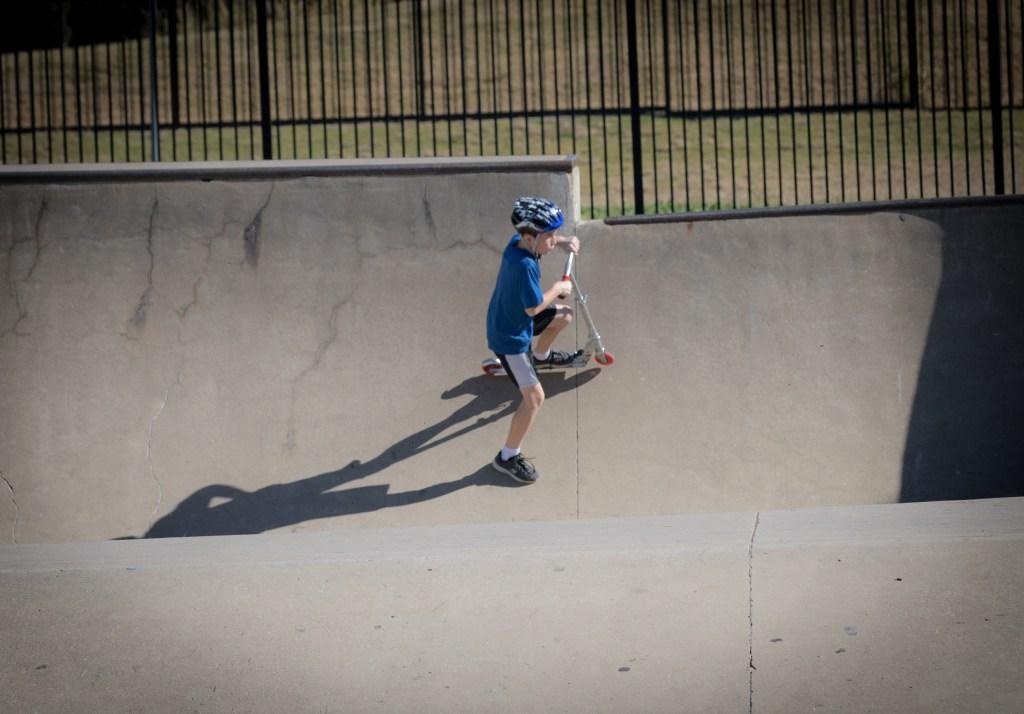 The Edge Skate Park in Allen