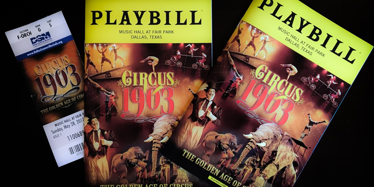 Circus 1903…The Golden Age of Circus – A Must See for Everyone