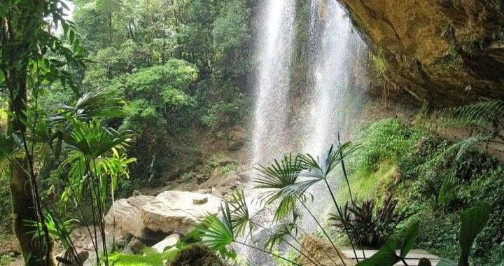 Our natural paradise, Diamante Verde Waterfall