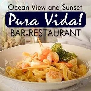 Pura Vida Restaurant, international cuisine at Cristal Ballena Hotel, Restaurante Pura Vida!