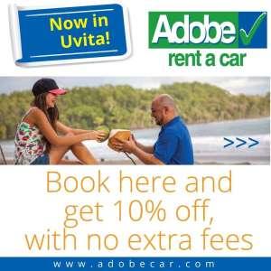Adobe Rent a car Uvita