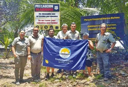 Blue Flag – Marine Ballena National Park - Osa, Uvita - Ballena Tales